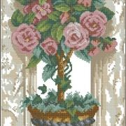 Dimensions 13674 Rose Topiary
